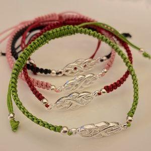 925 Sterling Silver Celtic Adjustable Bracelet